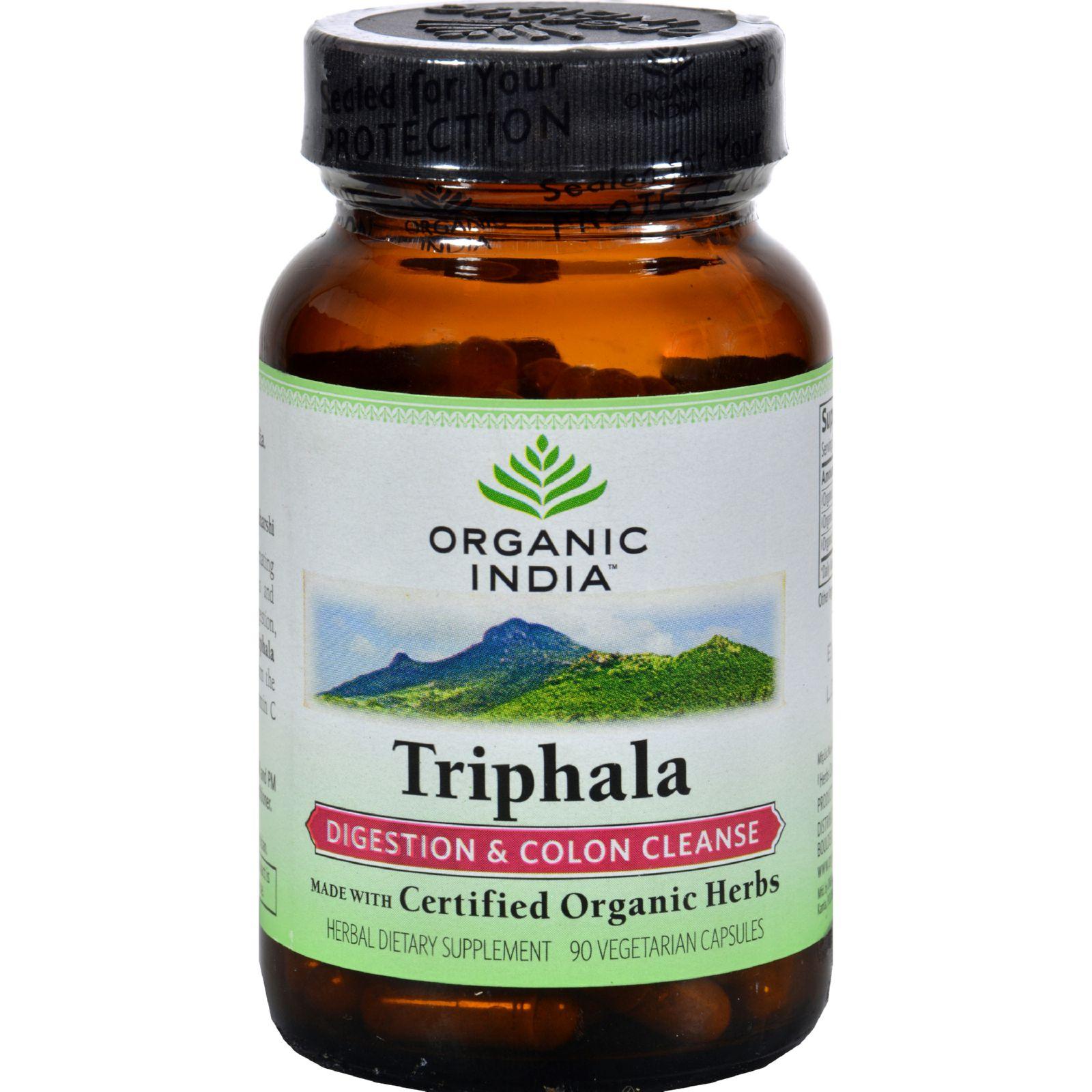 Organic India Triphala - 90 Vegetarian Capsules