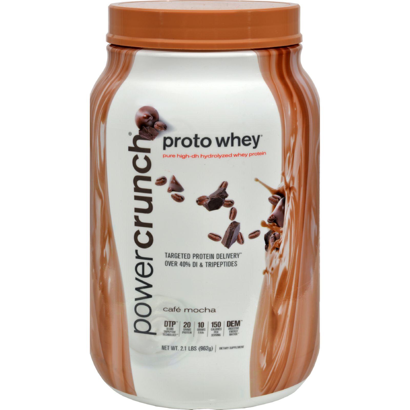 Proto Whey Protein Powder - Cafe Mocha - 2 Lbs
