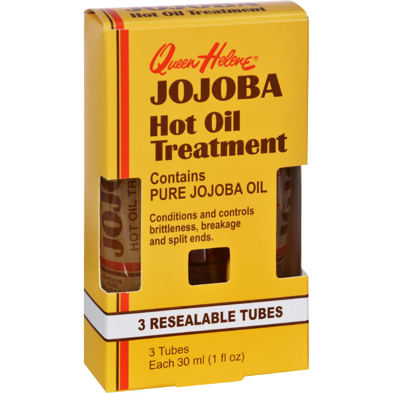 Queen Helene Jojoba Hot Oil Treatment - 1 Fl Oz