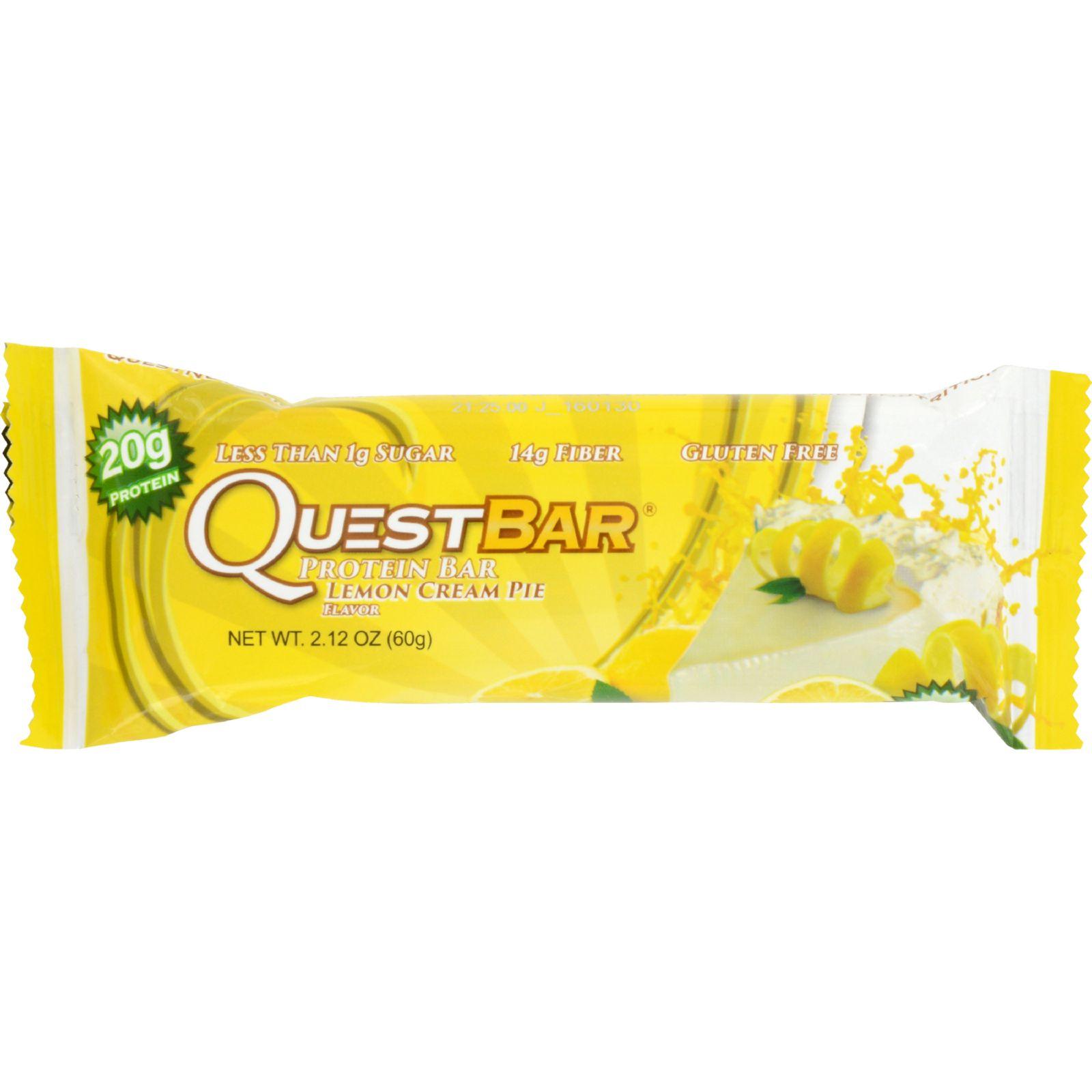 Quest Bar - Lemon Cream Pie - 2.12 Oz - Case Of 12