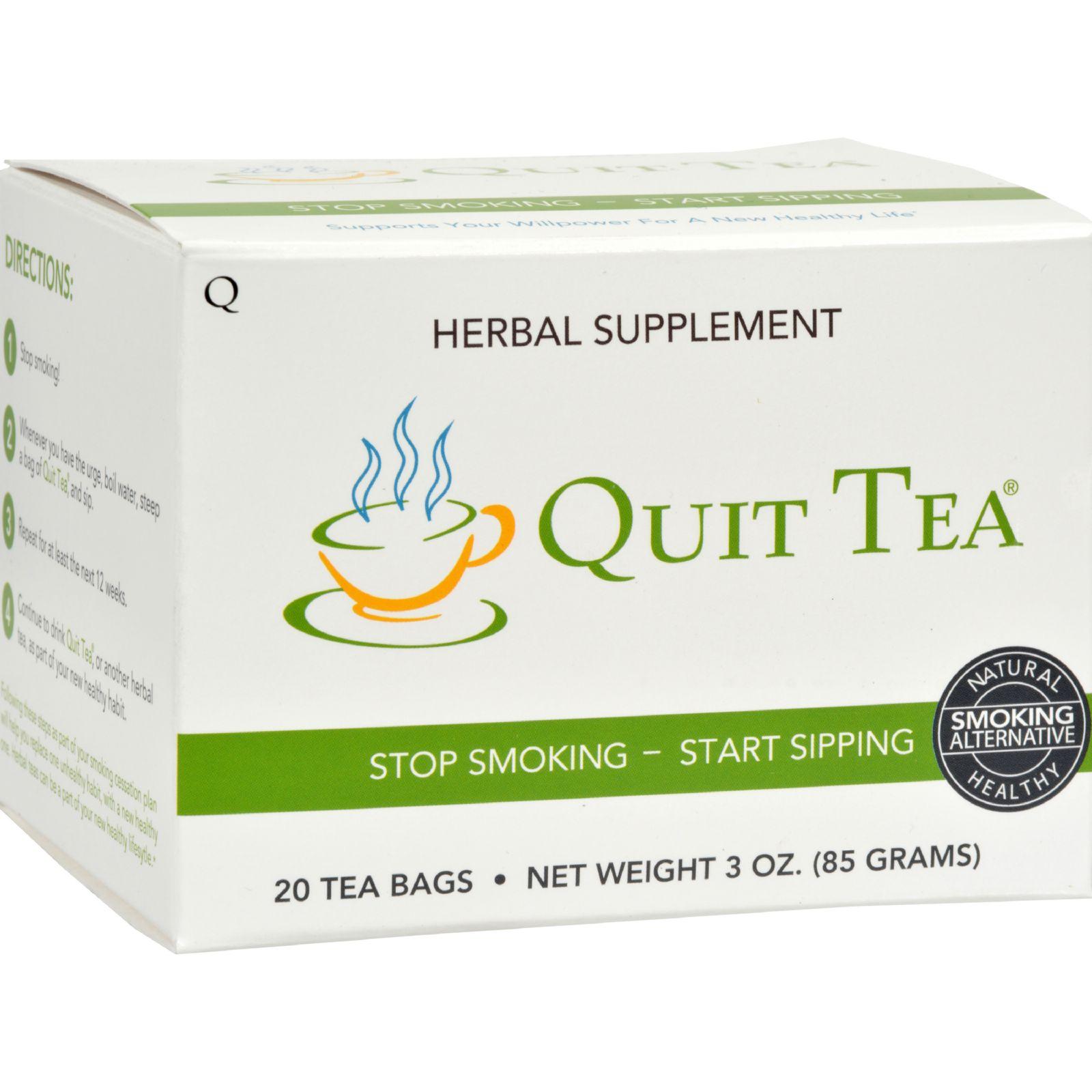 Quit Tea Stop Smoking Tea - 20 Tea Bags