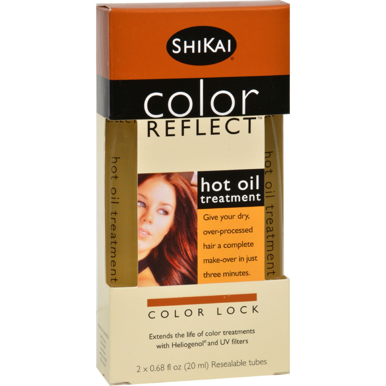 Shikai Color Reflect Hot Oil Treatment - 0.67 Fl Oz