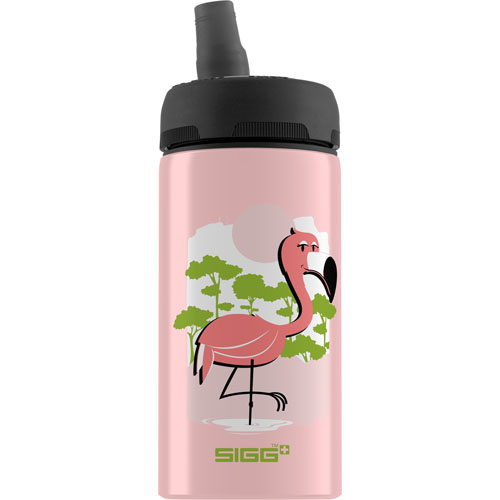 Sigg Water Bottle - Cuipo Born Pink Live Green - .4 Liters