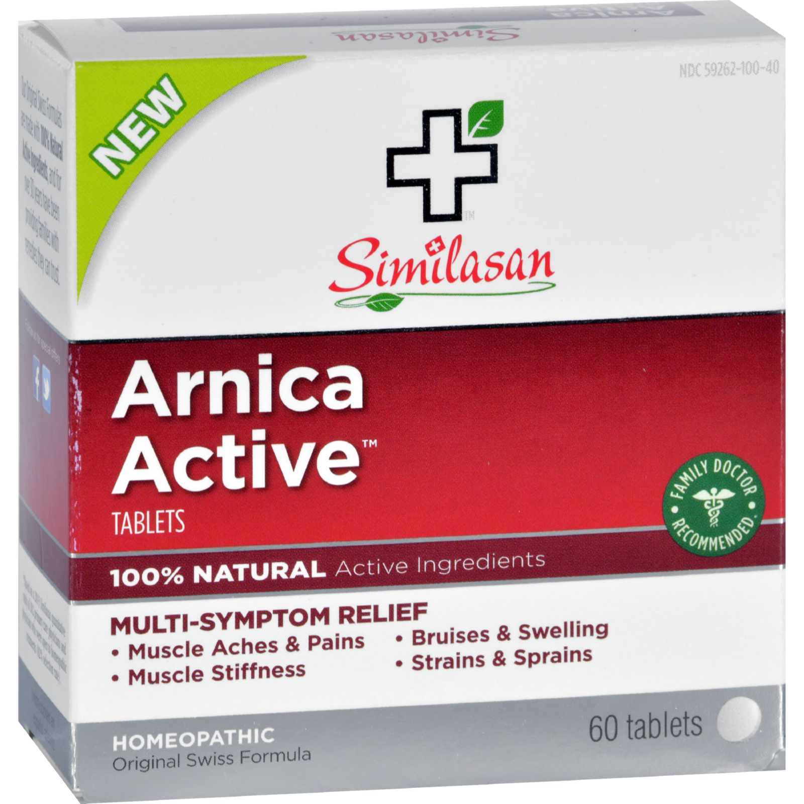 Similasan Arnica Active - 60 Tablets