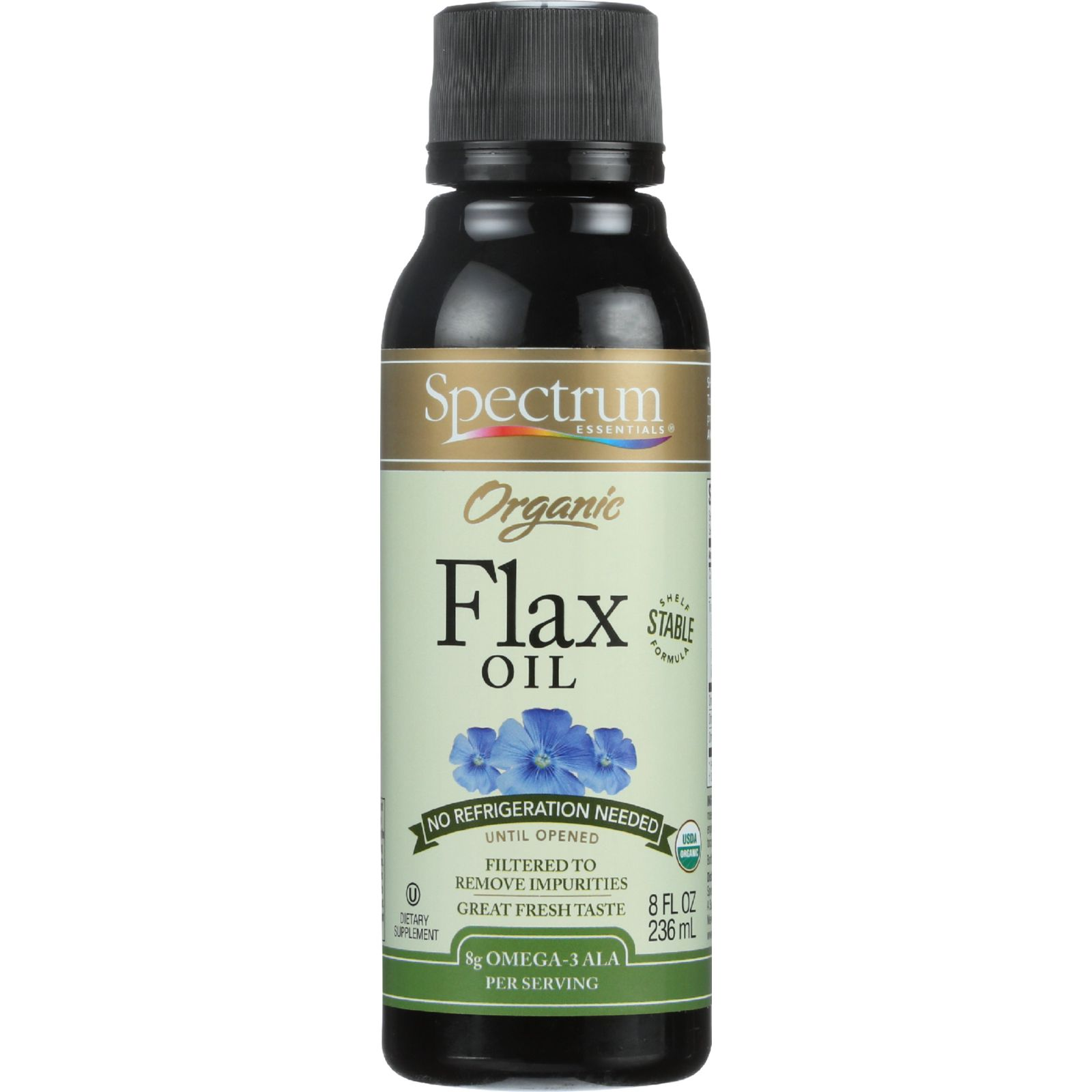 Organic Flax Oil; Shelf Stable