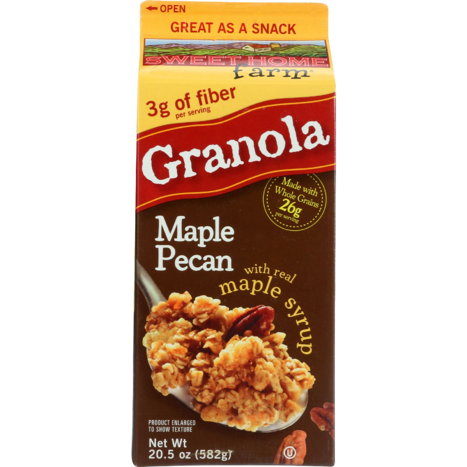 Sweet Home Granola - Maple Pecan - Carton - 20.5 oz - case of 8