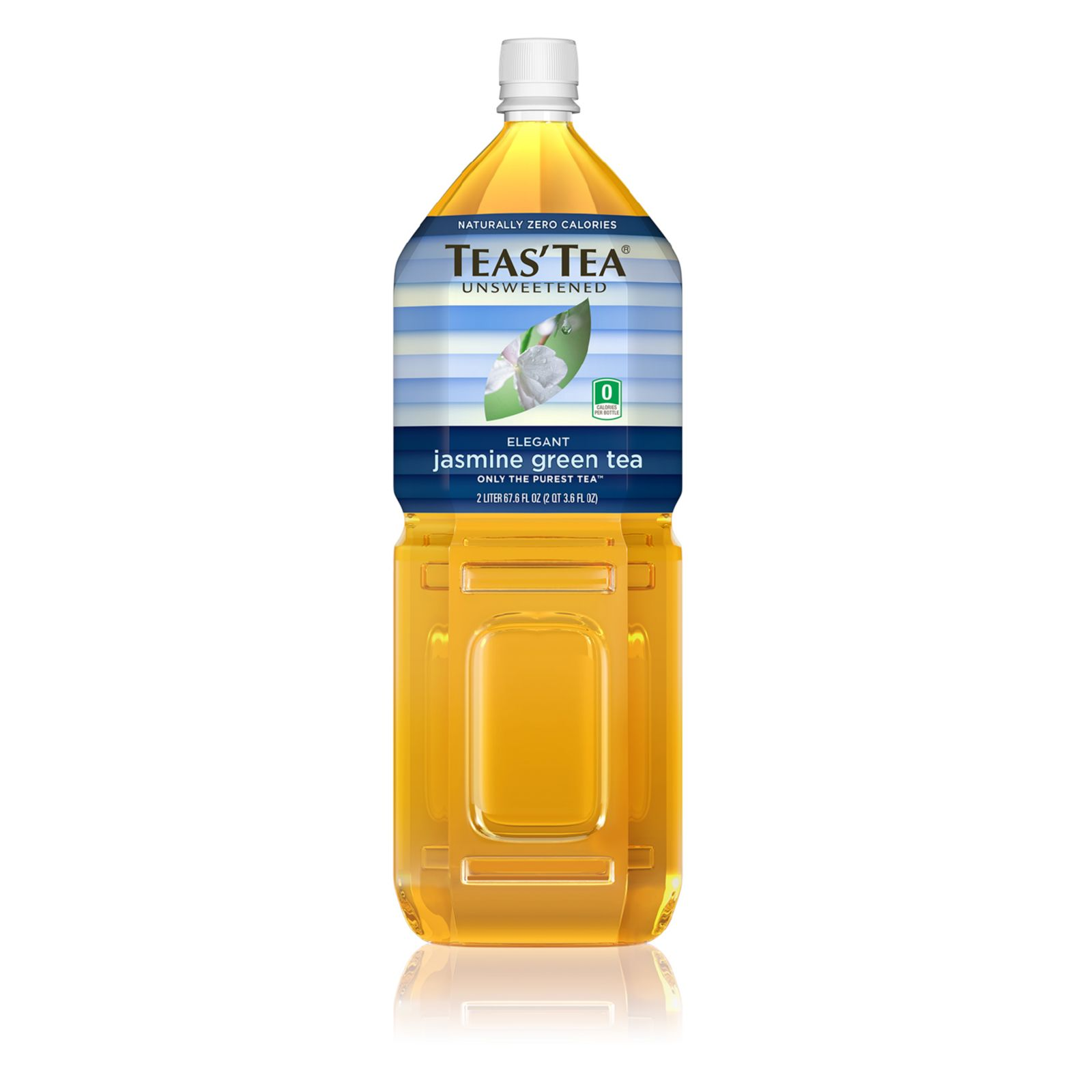 Teas' Tea Unsweetened Green Jasmine Tea - Case Of 6 - 2 Liter