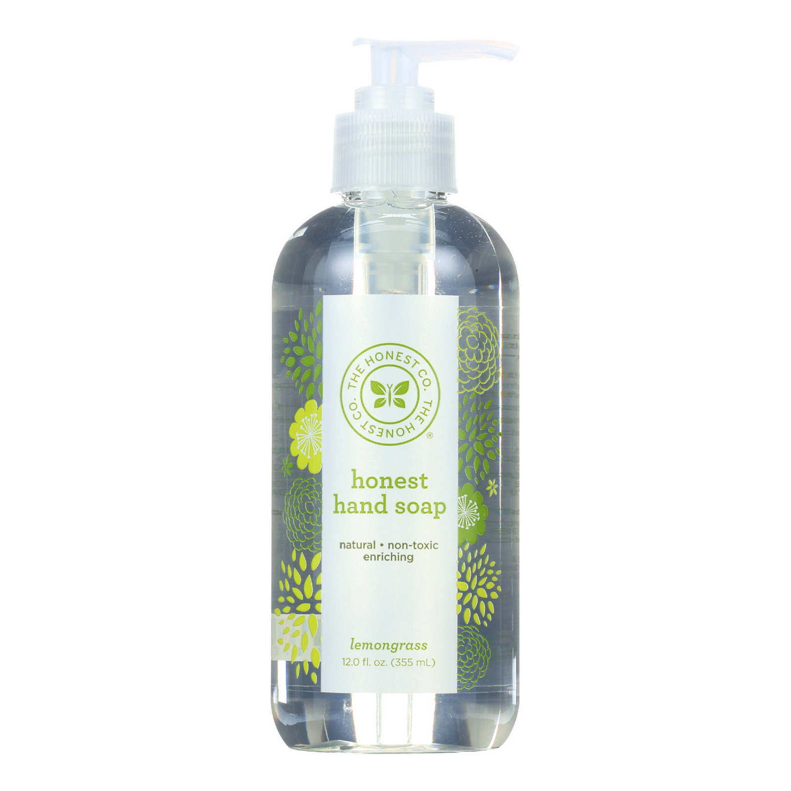 The Honest Company Hand Soap - Lemongrass - 11.5 Fl Oz.