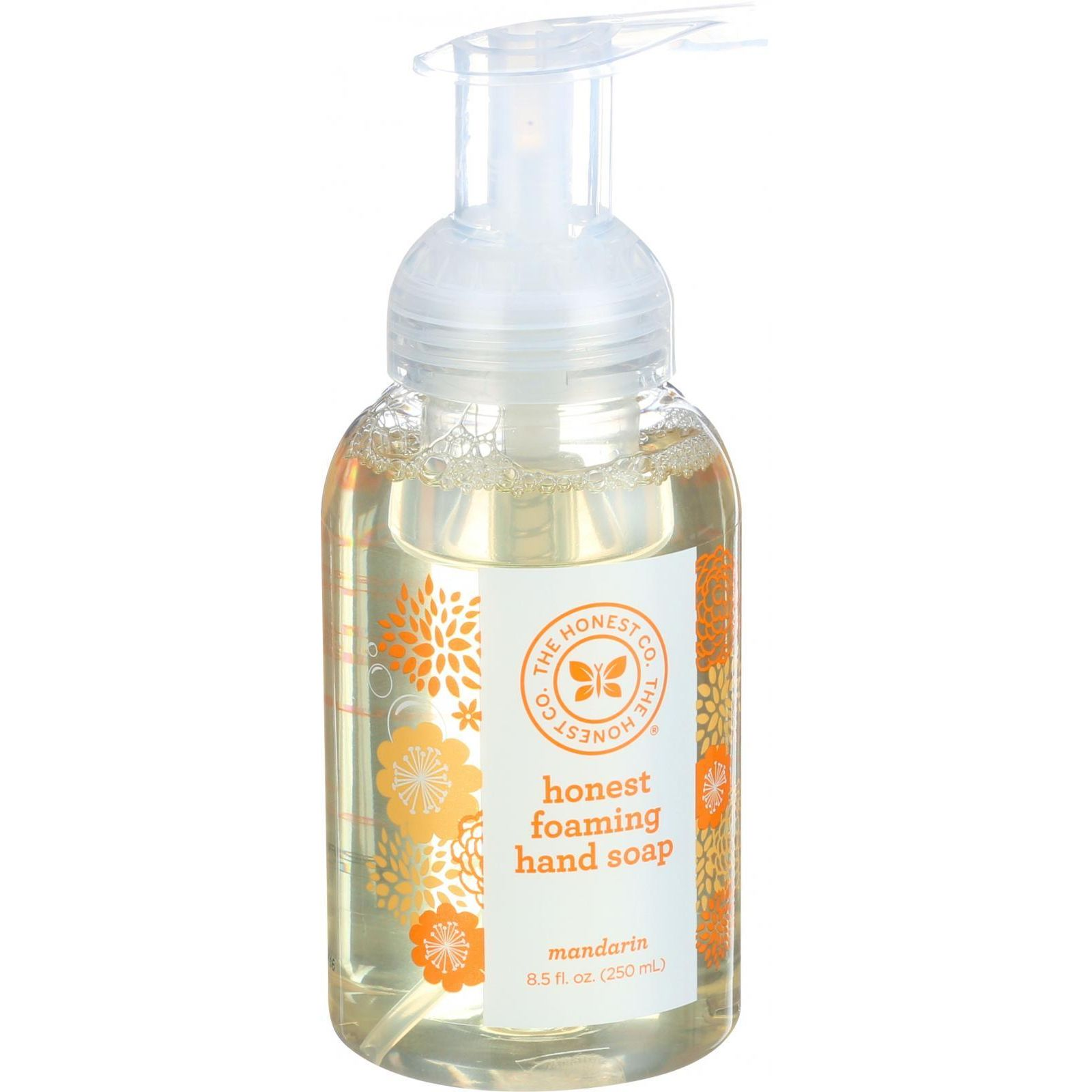 The Honest Company Honest Hand Soap - Foaming - Mandarin - 8.5 Oz