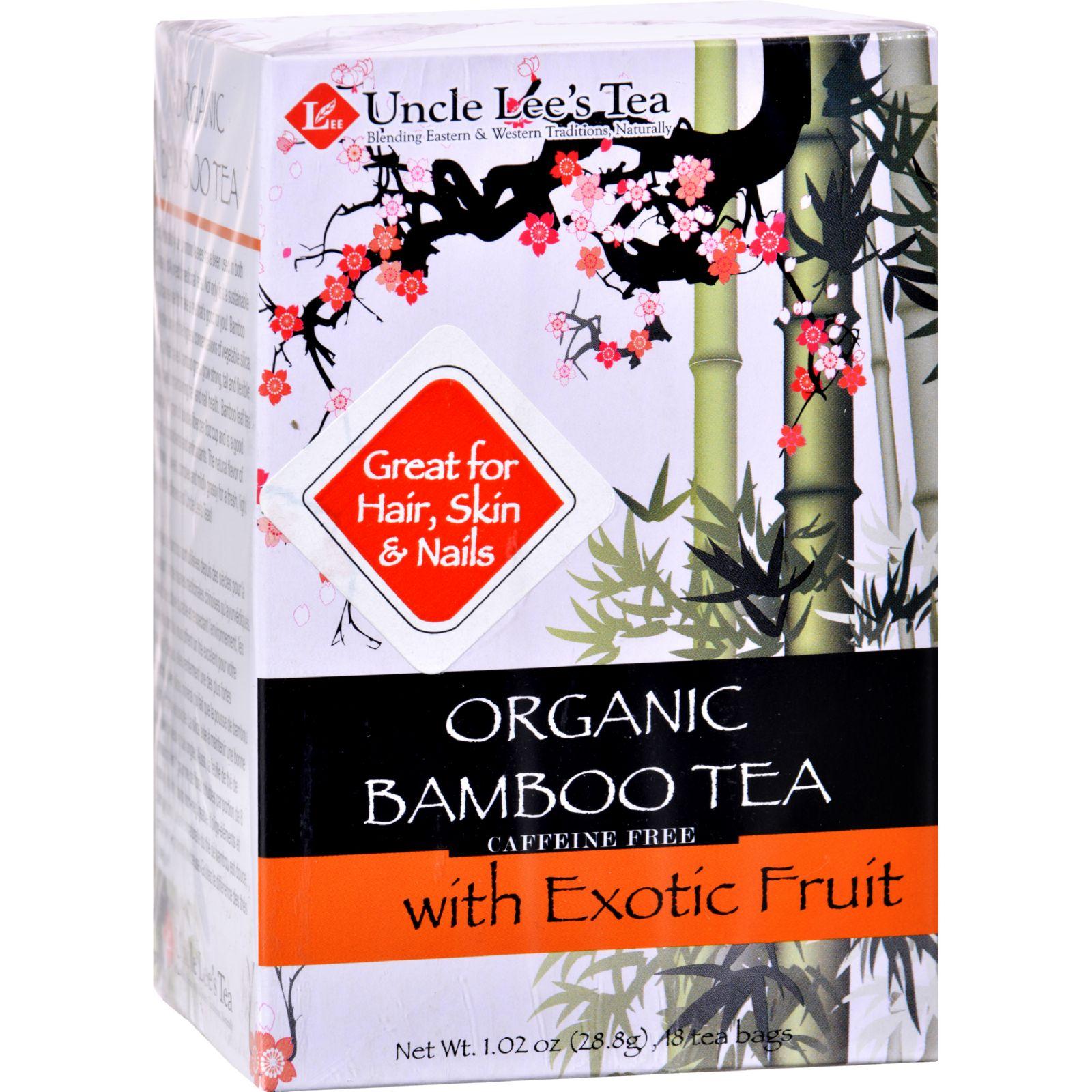 Uncle Lees Tea Organic Tea - Bamboo Exotic Fruit - 18 Bags