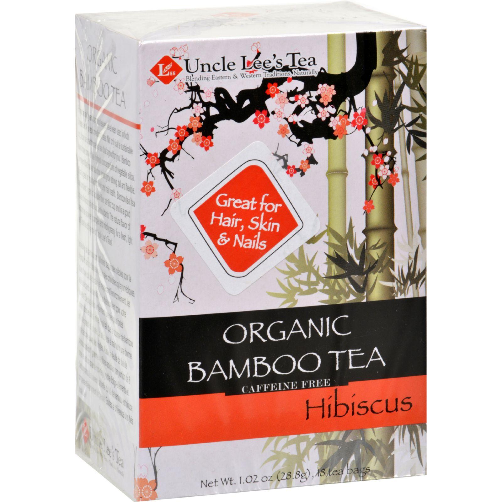 Uncle Lees Tea Organic Tea - Bamboo Hibiscus - 18 Bags