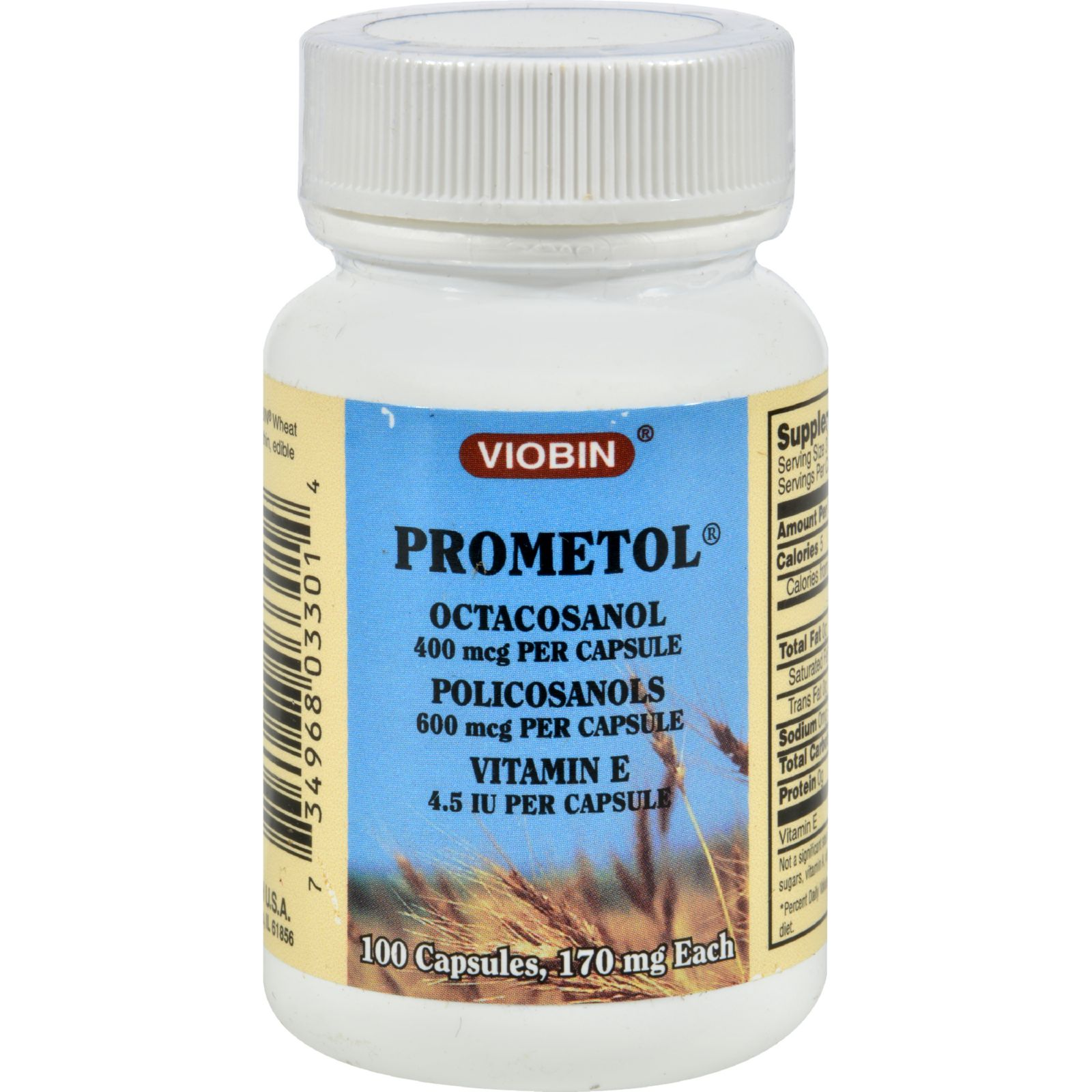 Viobin Prometol - 170 Mg - 100 Capsules