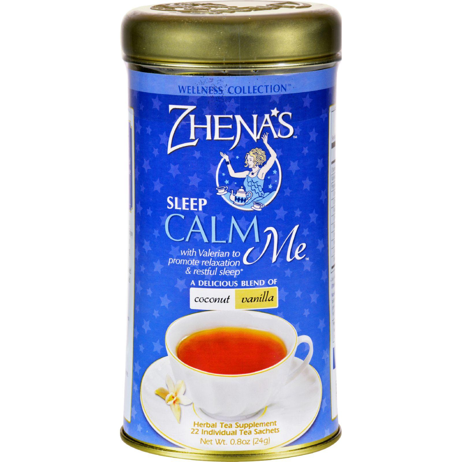Zhena's Gypsy Tea Calm Me Coconut Van - Case Of 6 - 22 Bags