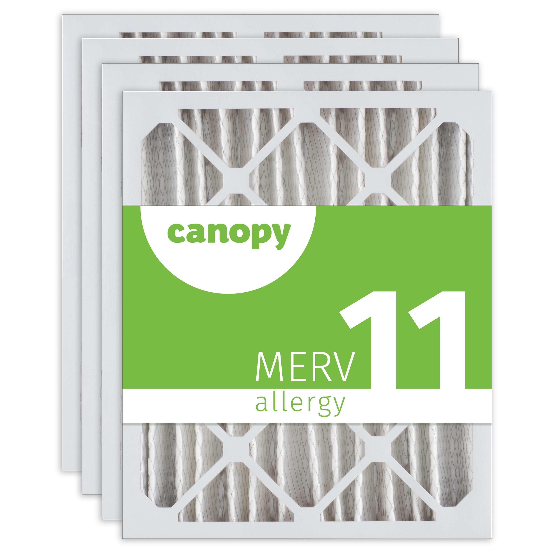 """24x24x1 Canopy Filters MERV 11 Box of 6 23 1//2/"""" x 23 1//2/"""" x 3//4/"""""""