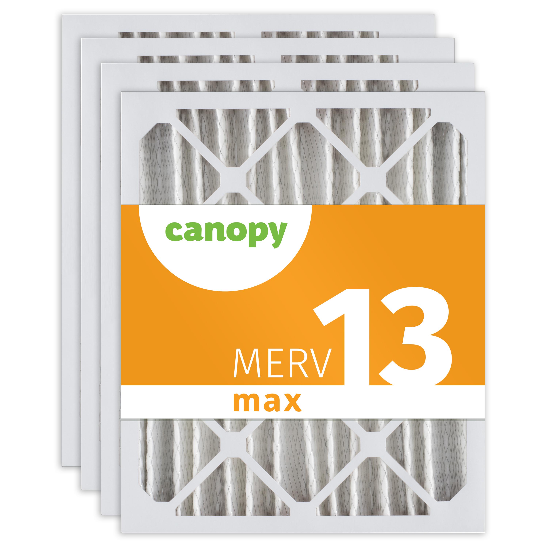 "15 1//2/"" x 19 1//2/"" x 1 3//4/"" 6pk 16x20x2 Canopy Furnace AC Filter MERV 11"