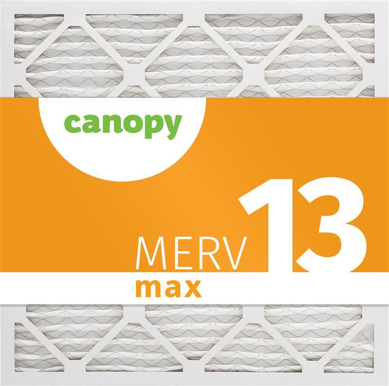 20x20x1  AC Furnace Air Filter by Canopy - MERV 13, 2pk