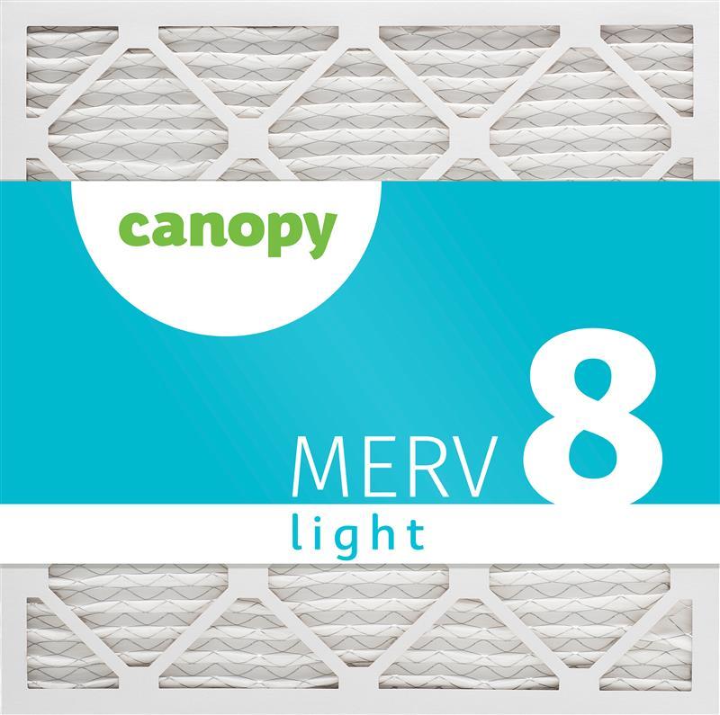 21x21x1  AC Furnace Air Filter by Canopy - MERV 8, 12pk