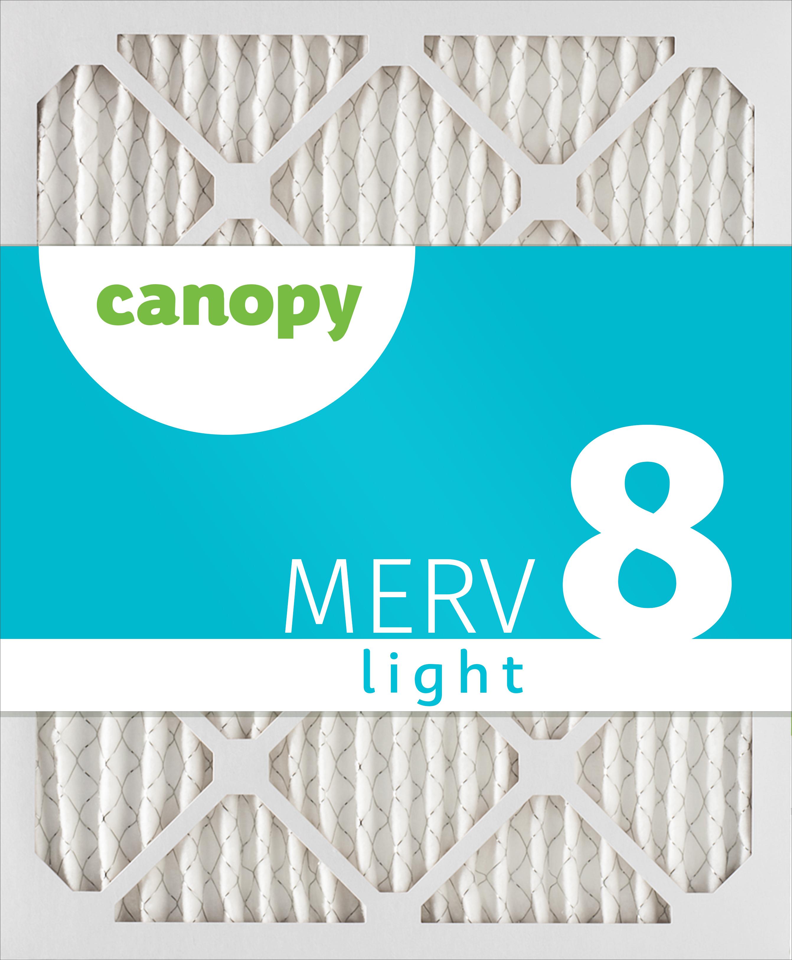 Canopy 12x30x1 MERV  8 Air Filter 12x30x1 Box of 4