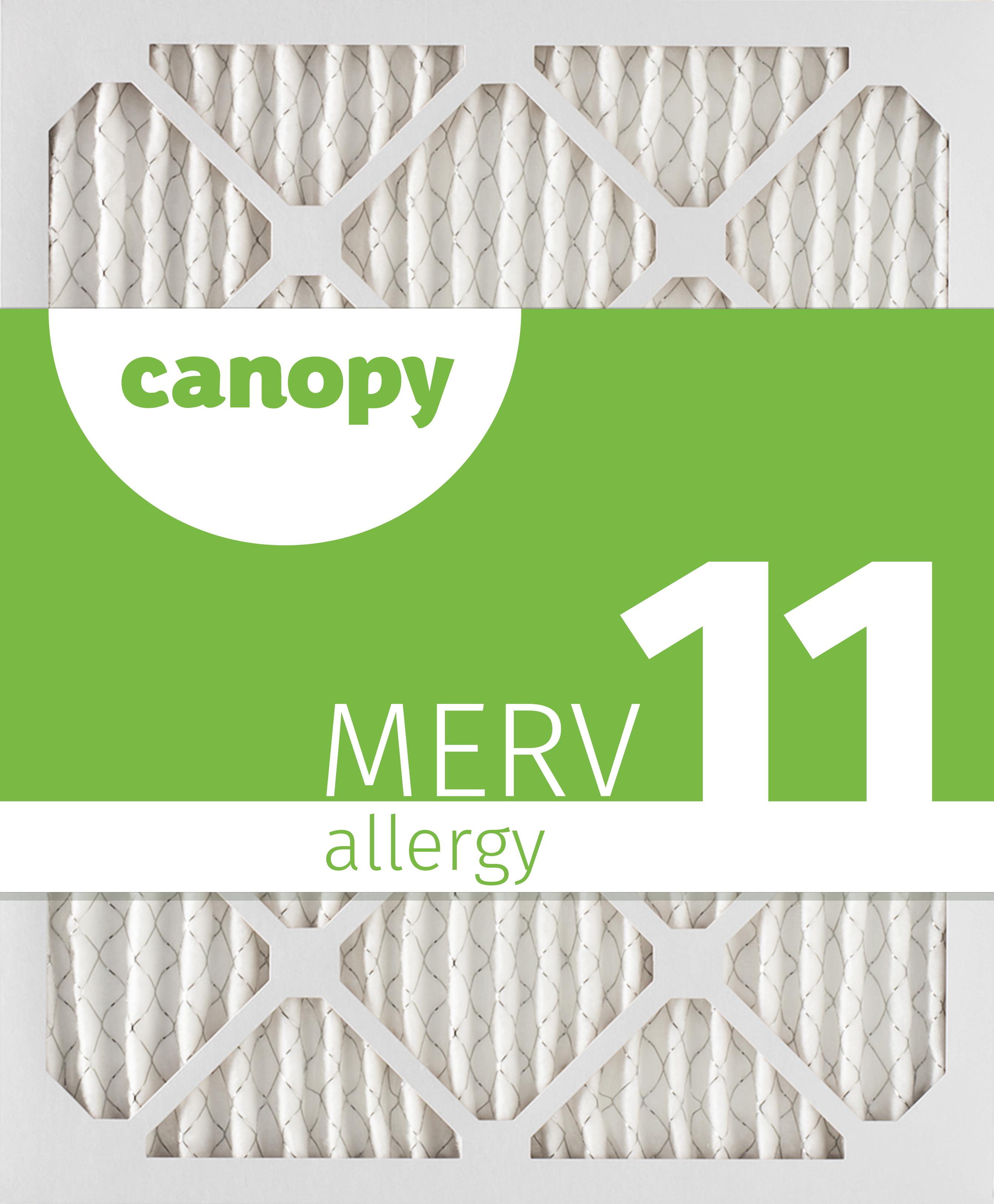 "4pk Canopy Filter 16 3//8 x 21 1//2 x 1 MERV 13 16 3//8/"" x 21 1//2/"" x 3//4/"""