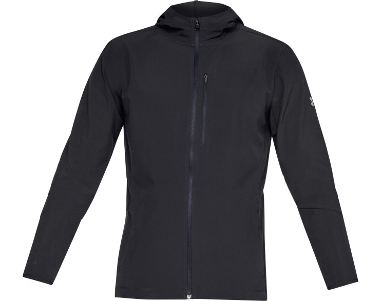 Black Under Armour 1318013 Men/'s UA Outrun The Storm Jacket Running Jacket