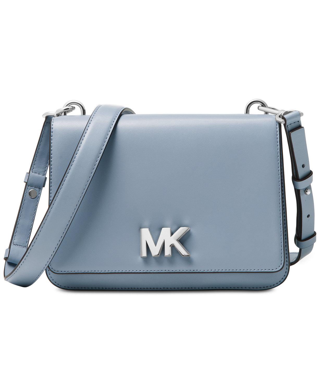 1bdfc0a925f23 MICHAEL Michael Kors Mott Large Chain Swag Small Shoulder Bag Pale ...