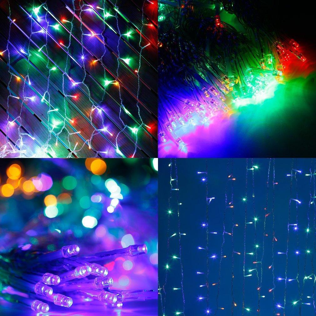 10M 20M 30M 100M LED Lichterkette Außen Innen Garten Party Deko ...