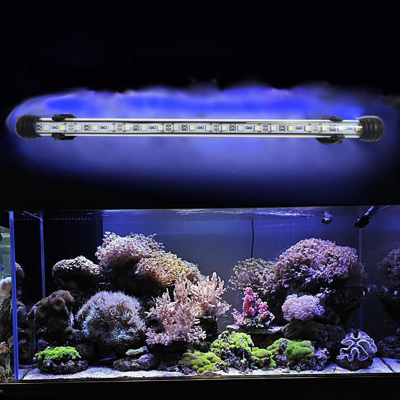 led aquarien beleuchtung smd wei blau rgb fernbedienung wasserdicht lampe ip68 ebay. Black Bedroom Furniture Sets. Home Design Ideas