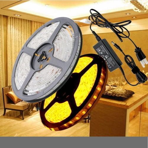 3528-5050-Flexible-5M-300-SMD-LED-Strip-Light-Lamp-Tape-Car-Outdoor-Waterproof