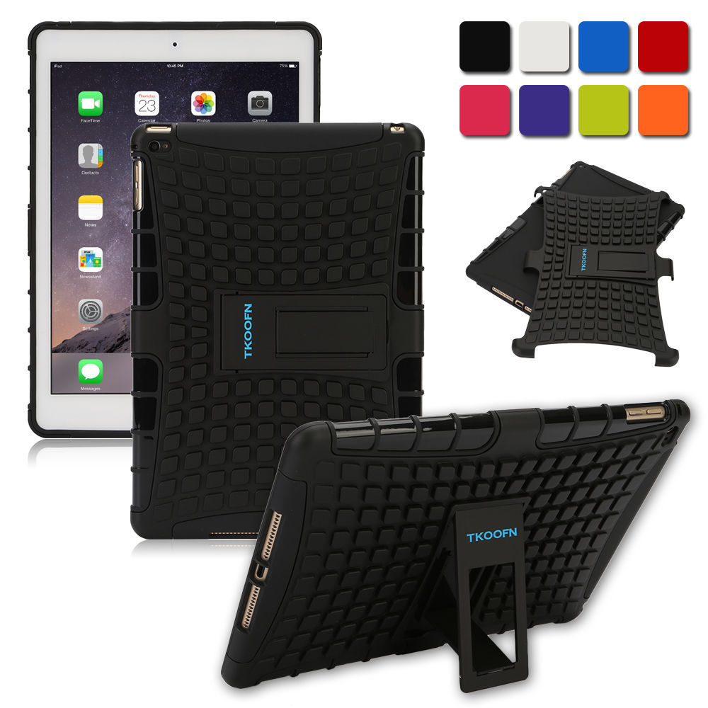 shock proof protective case cover stand for apple ipad 4 3 2 mini air heavy duty ebay. Black Bedroom Furniture Sets. Home Design Ideas