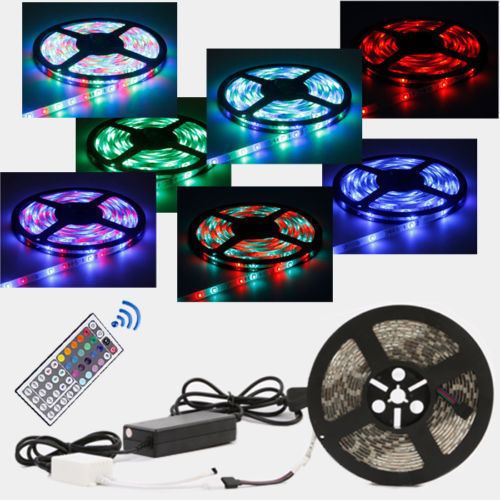 Mood Lighting Ideas From Visualchillout: 5-20M 300 LED Mood Lighting IDEAS TV BACK LIGHTS Colour