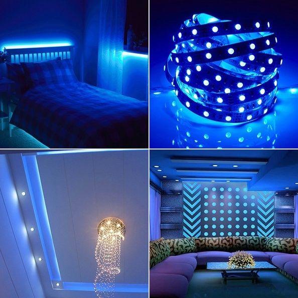 3528 5050 rgb smd led stripe leiste band schlauch lichterkette streifen netzteil ebay. Black Bedroom Furniture Sets. Home Design Ideas