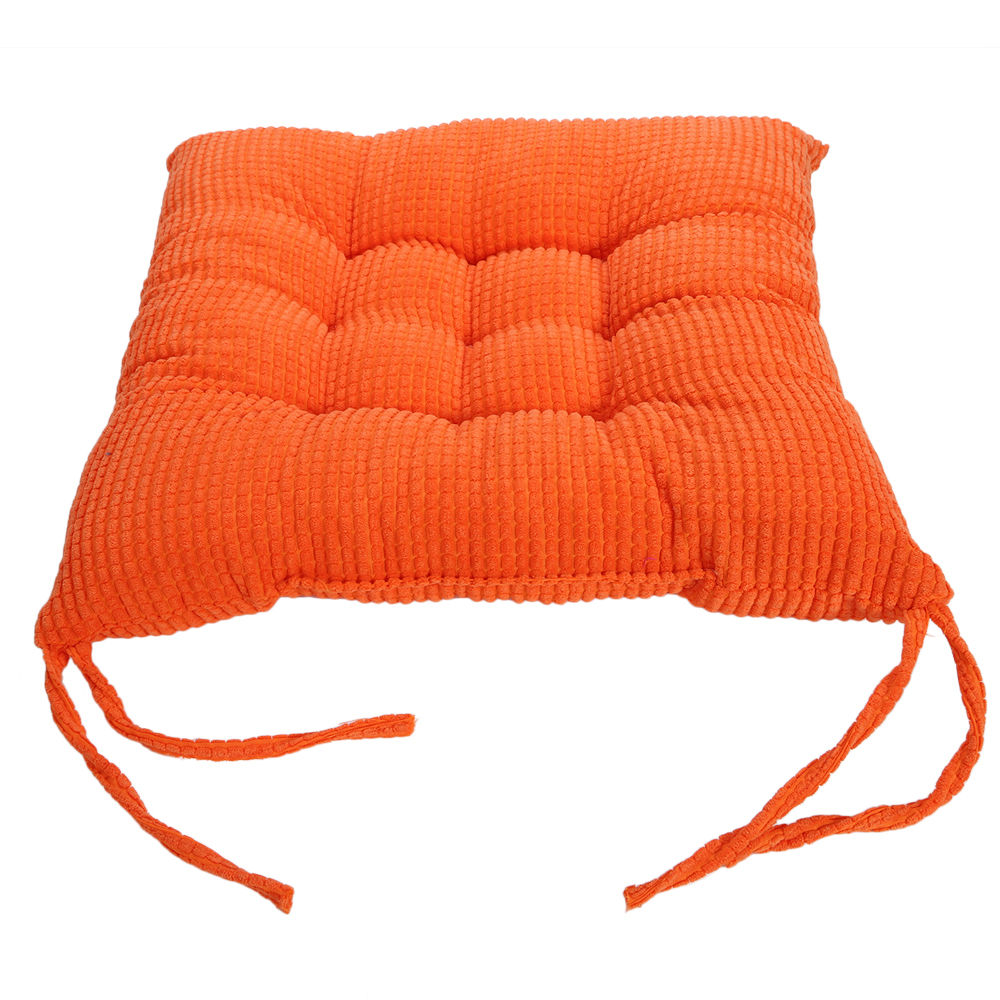 Corn Velvet Seat Cushions Tie On Chunk Chair