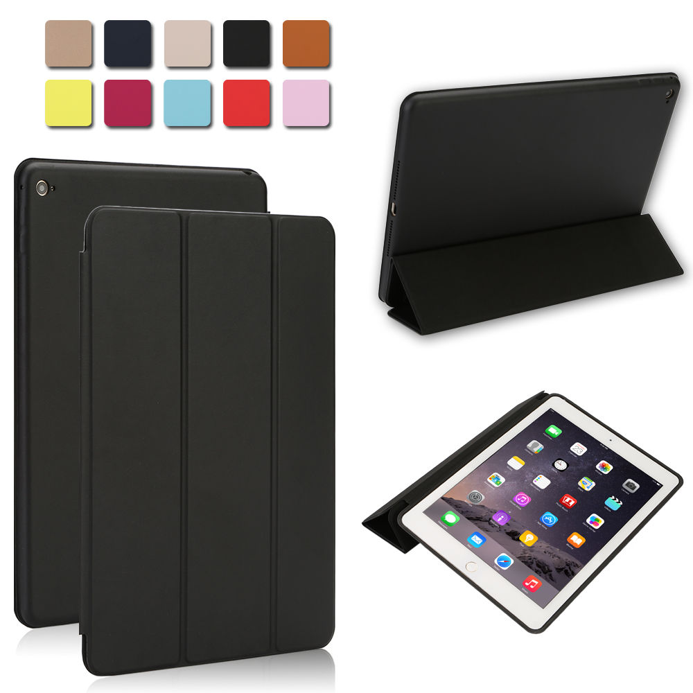 smart magnetic leather cover back case stand for apple ipad 2 3 4 mini air 2 pro. Black Bedroom Furniture Sets. Home Design Ideas