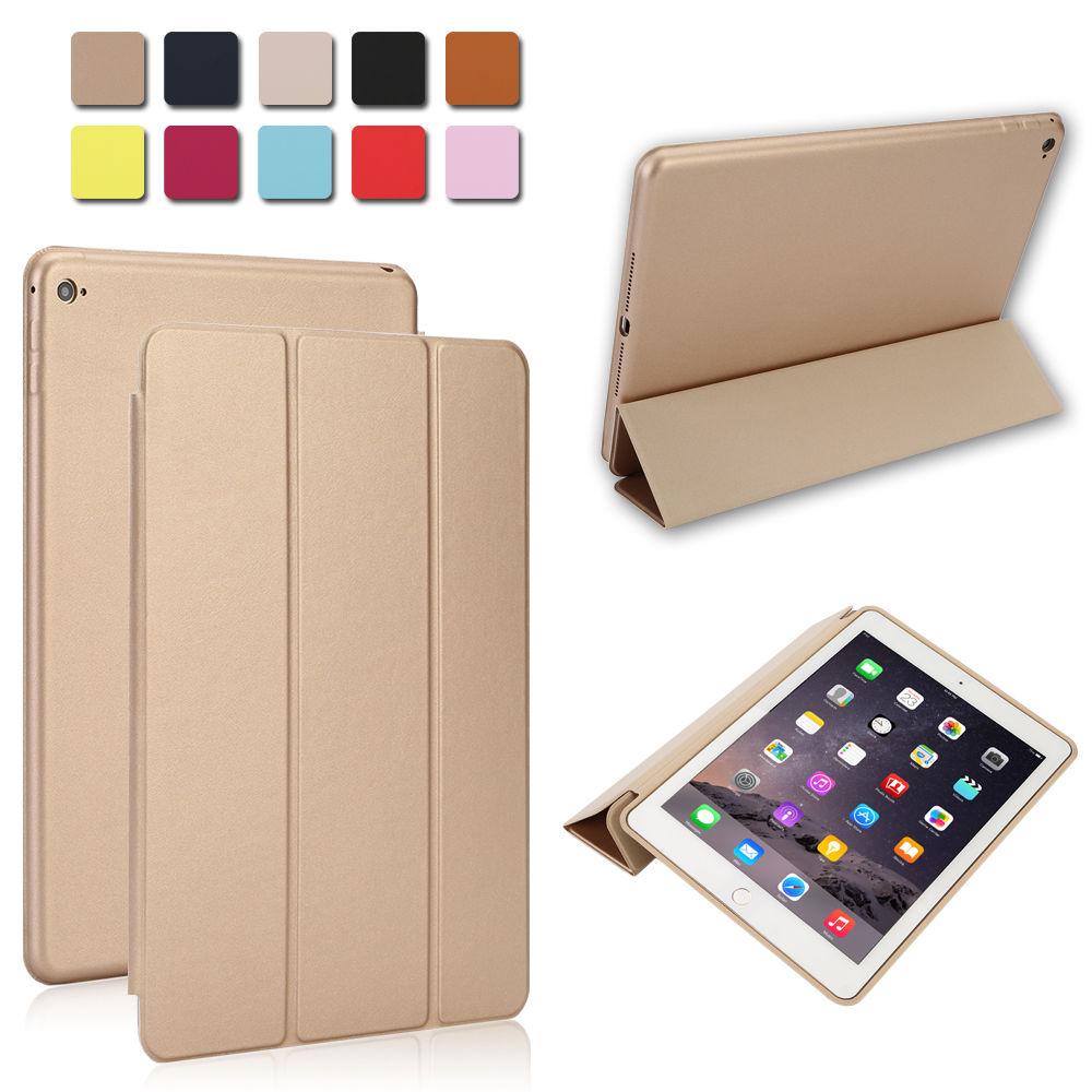 smart magnetic leather cover back case stand for apple. Black Bedroom Furniture Sets. Home Design Ideas