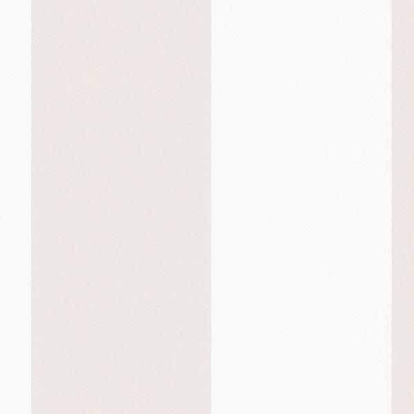 """5.25"""" Stripe Wallpaper in Pearl, Opaque White, White BK32064 by Norwall"""