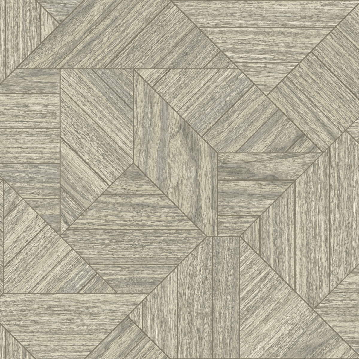 Details About York Wallcoverings Ho3371 Wood Geometric Wallpaper Tailored Collection Grey