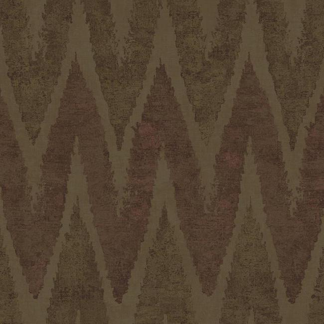 Details about York Wallcoverings LL4701 Urban Chaparel Wallpaper Taupe, Brown, Metallic Copper