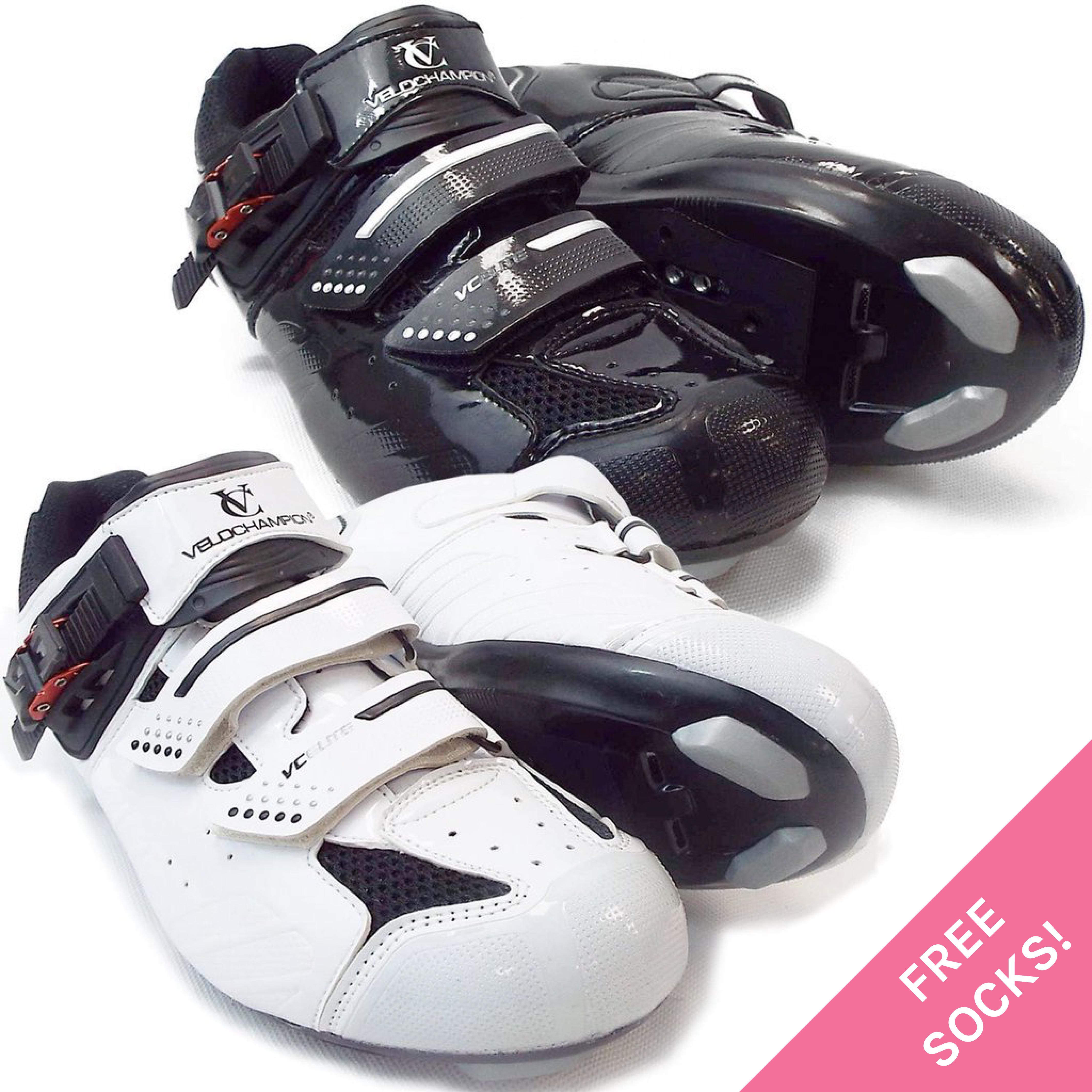VeloChampion Elite Scarpe da da da ciclismo su strada (COPPIA) | Alta qualità ed economico  1956f1