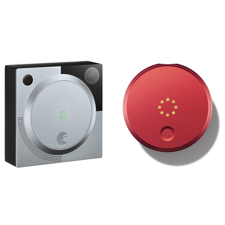 August-Smart-Lock-amp-HD-Doorbell-Camera-Wireless-Entry-System-1st-Generation
