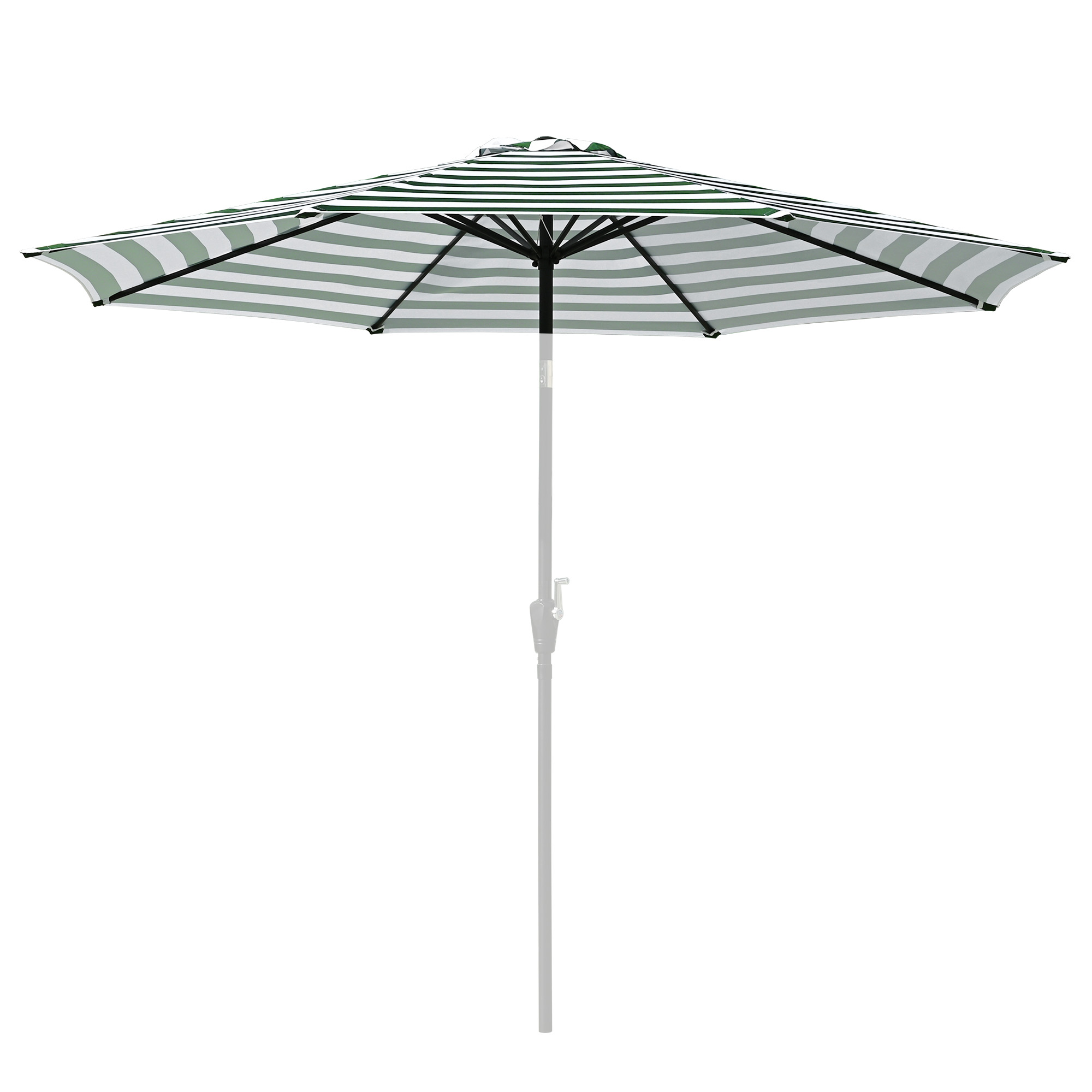 thumbnail 50 - 8'/9'/10'/13' Umbrella Replacement Canopy 8 Rib Outdoor Patio Top Cover Only Opt
