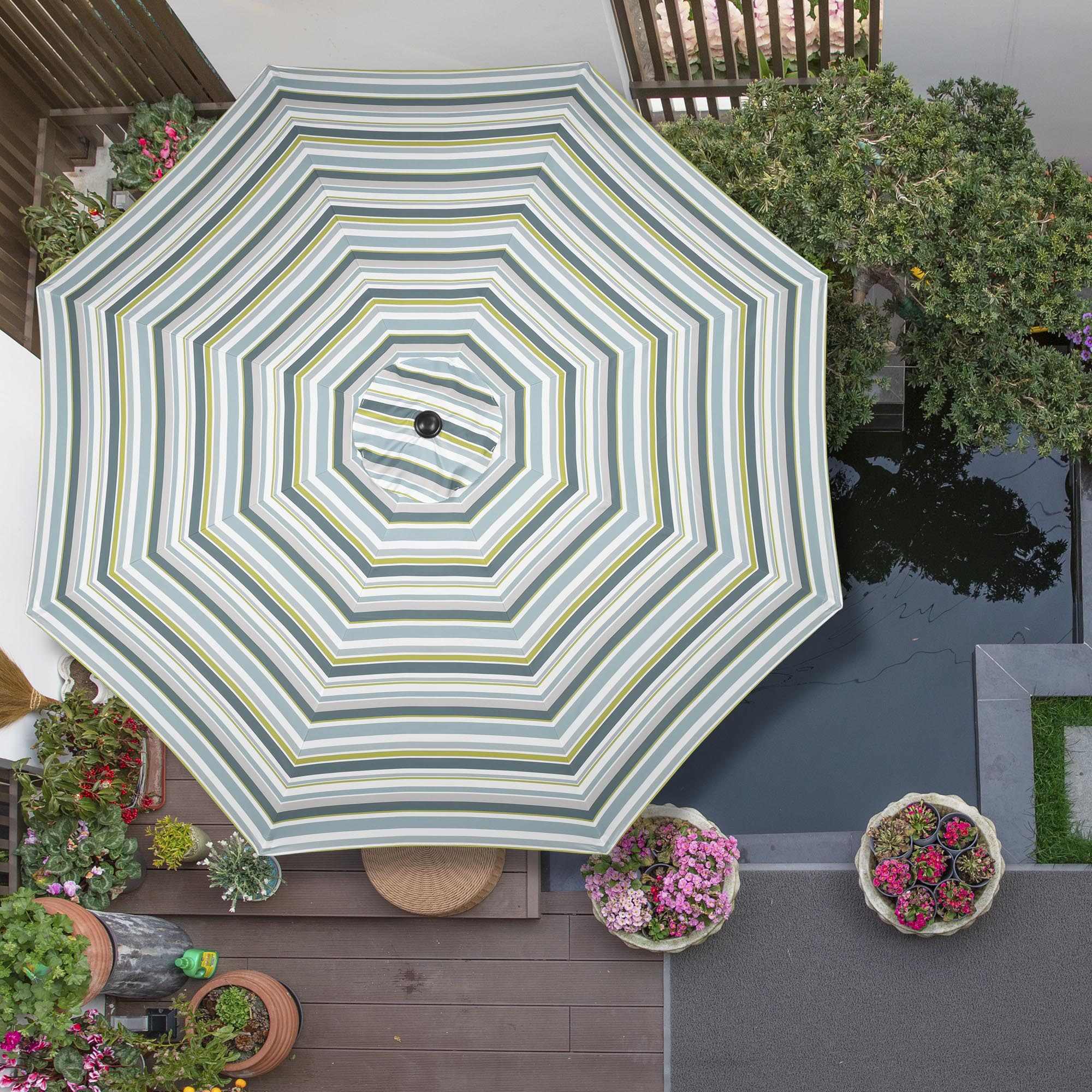 thumbnail 113 - 8'/9'/10'/13' Umbrella Replacement Canopy 8 Rib Outdoor Patio Top Cover Only Opt