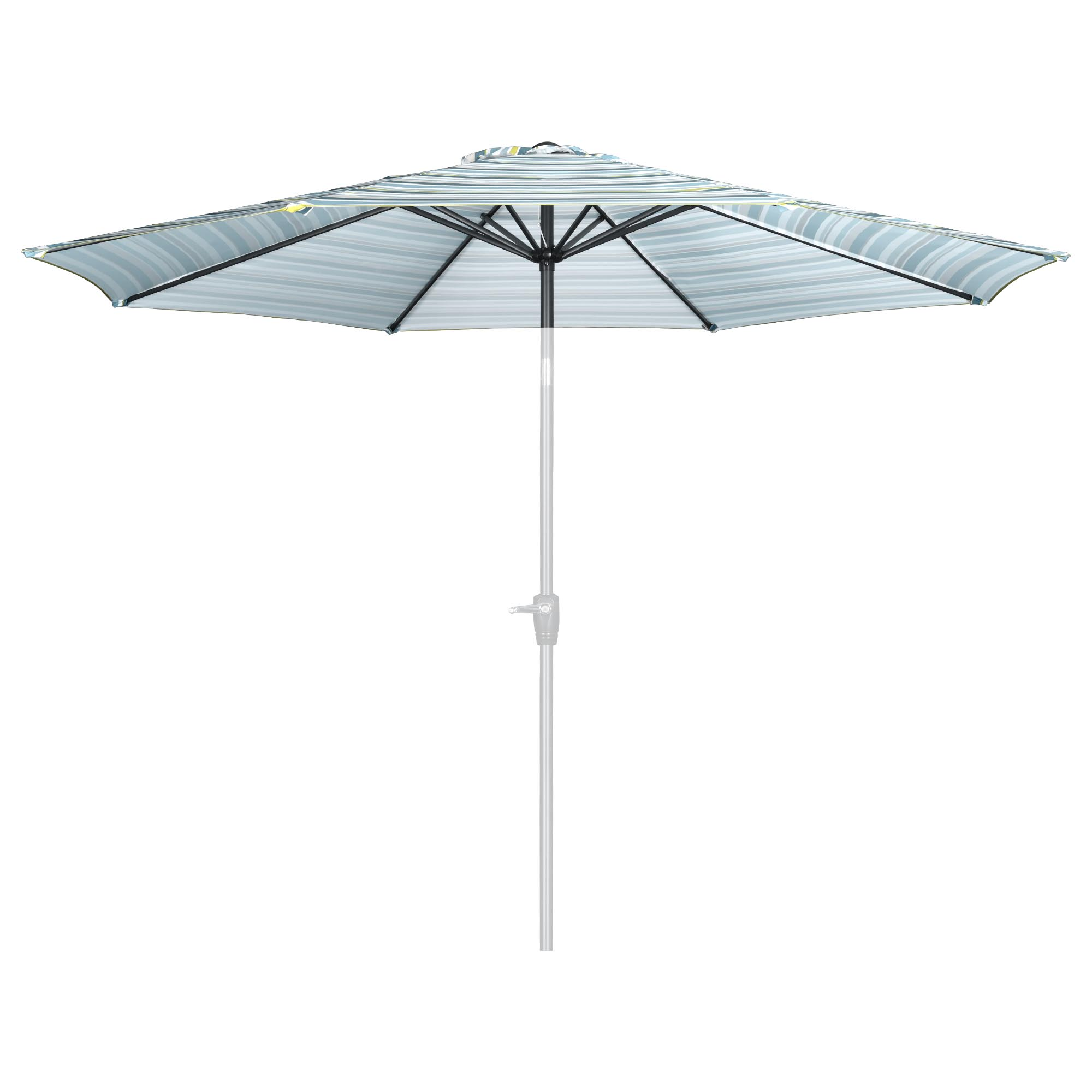 thumbnail 107 - 8'/9'/10'/13' Umbrella Replacement Canopy 8 Rib Outdoor Patio Top Cover Only Opt