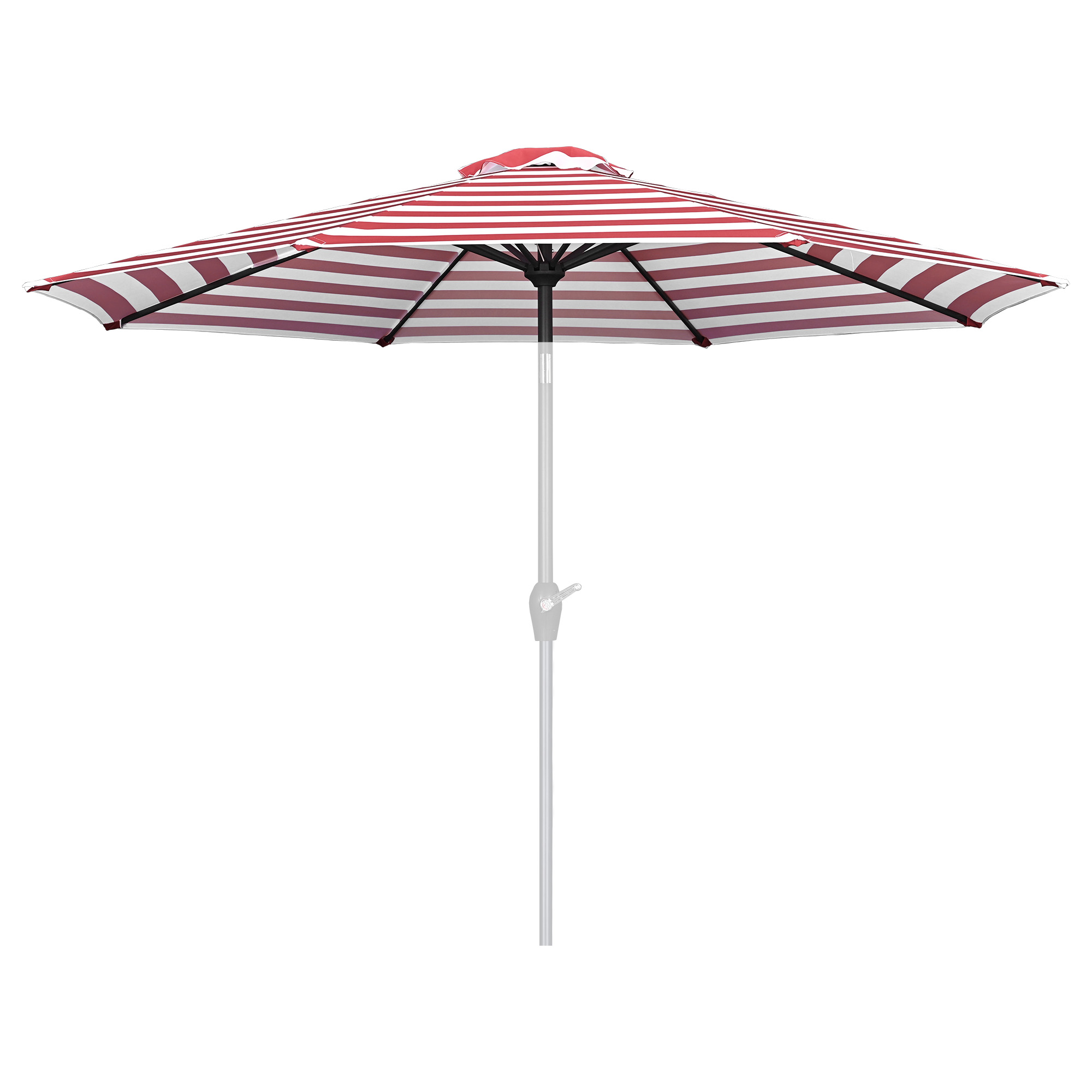 thumbnail 406 - 8'/9'/10'/13' Umbrella Replacement Canopy 8 Rib Outdoor Patio Top Cover Only Opt