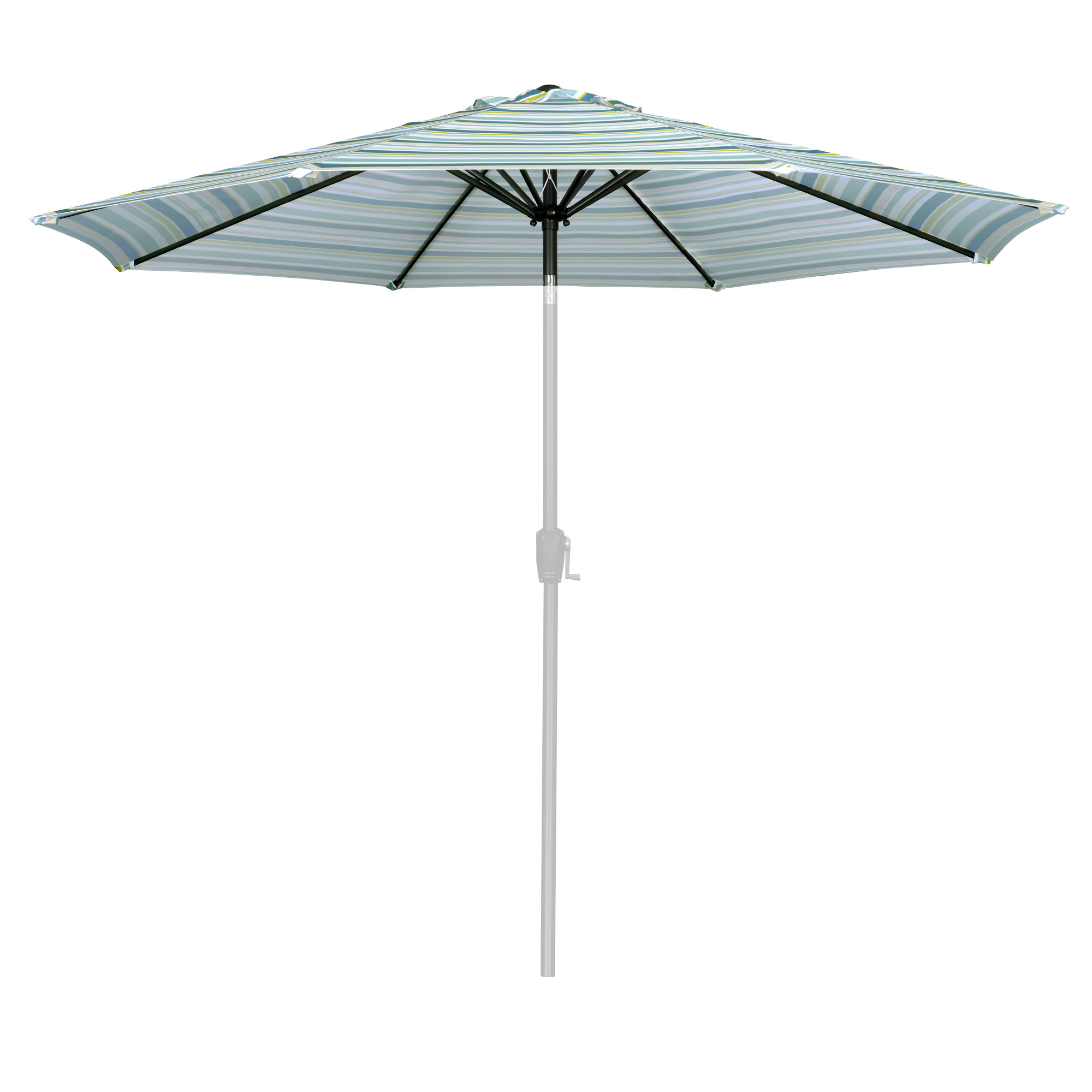 thumbnail 419 - 8'/9'/10'/13' Umbrella Replacement Canopy 8 Rib Outdoor Patio Top Cover Only Opt