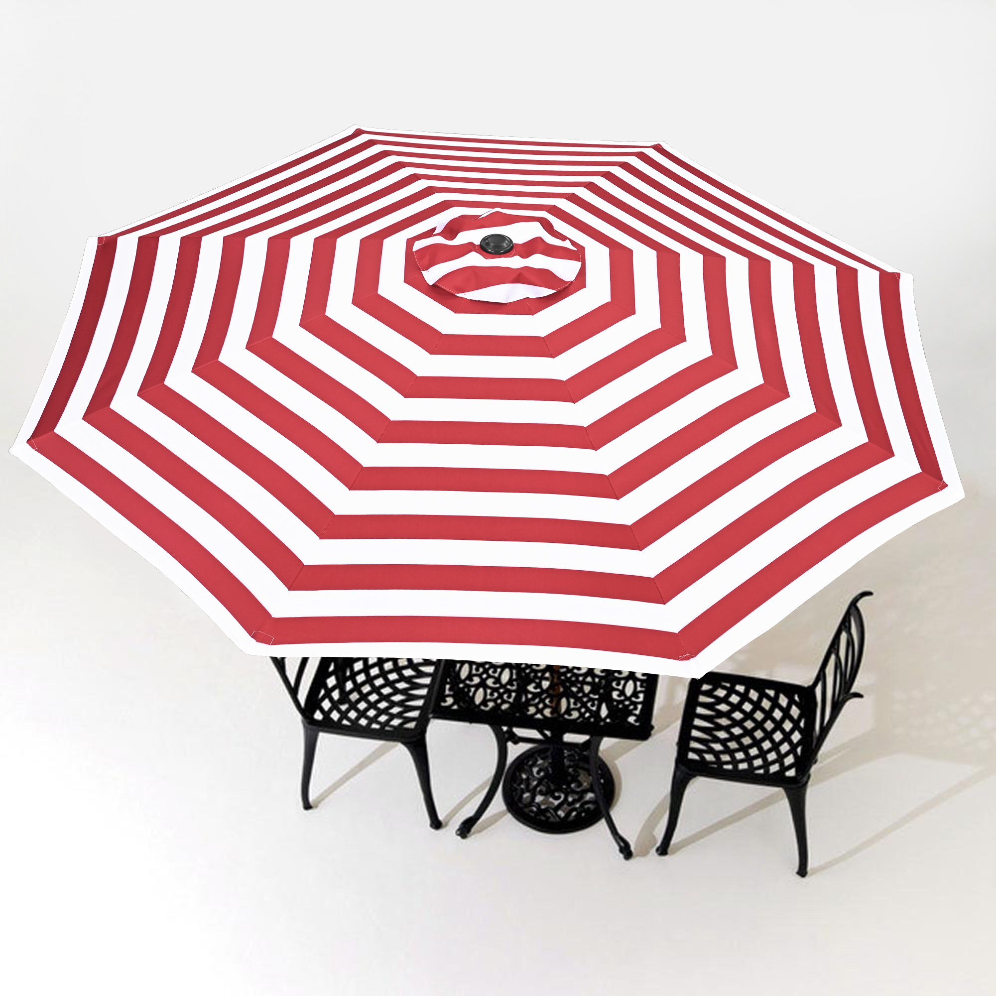thumbnail 516 - 8'/9'/10'/13' Umbrella Replacement Canopy 8 Rib Outdoor Patio Top Cover Only Opt