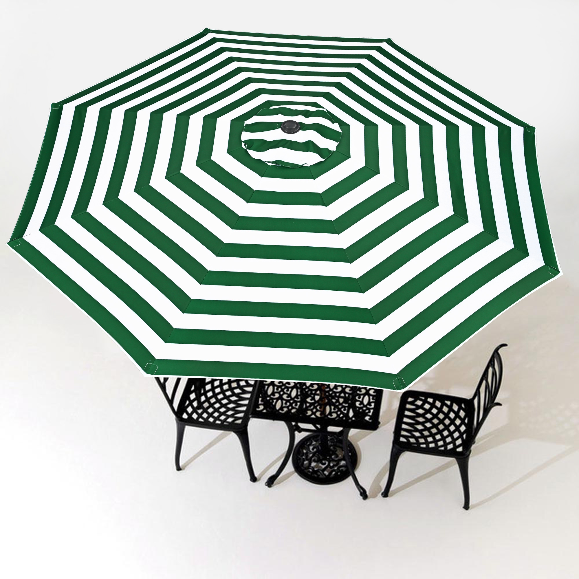 thumbnail 468 - 8'/9'/10'/13' Umbrella Replacement Canopy 8 Rib Outdoor Patio Top Cover Only Opt