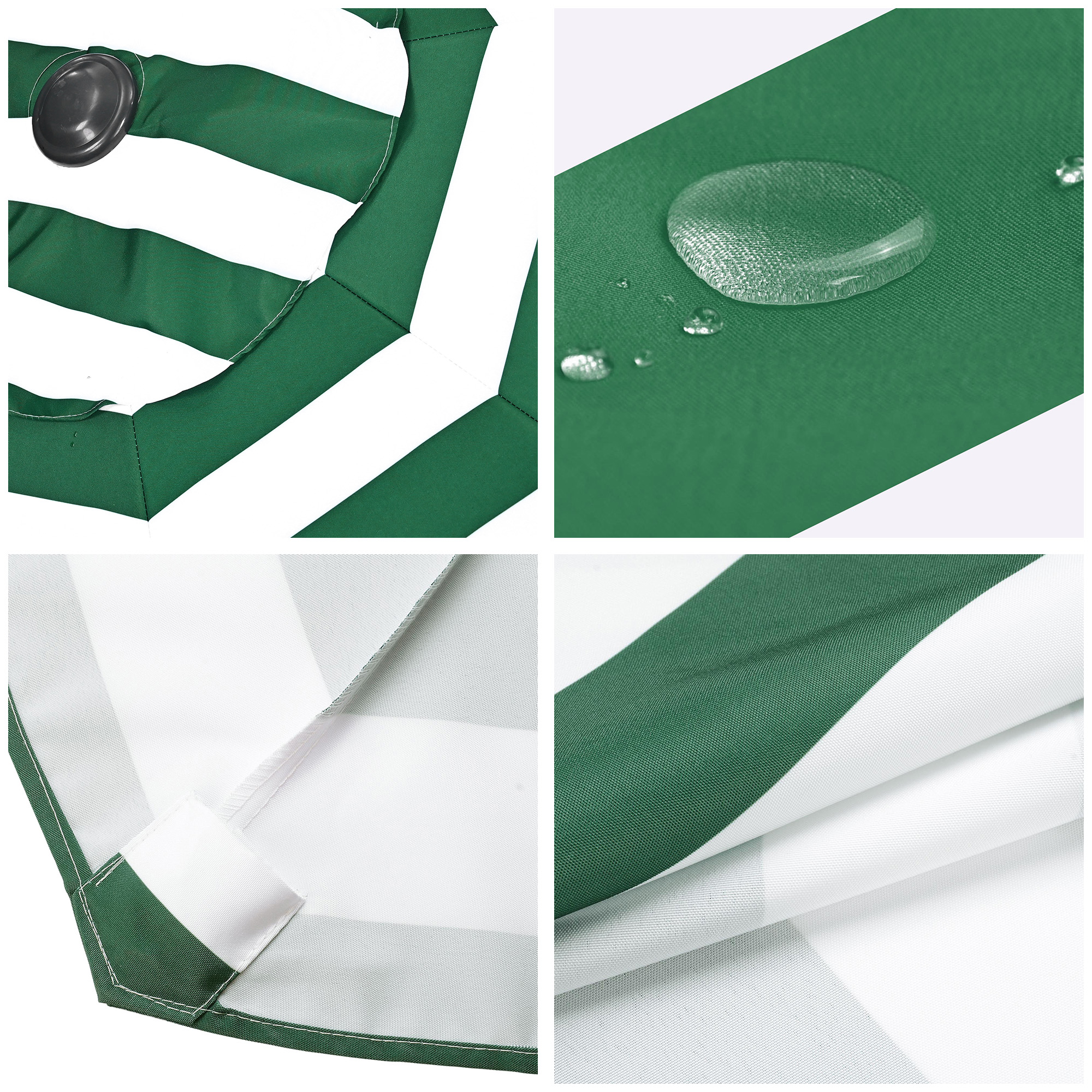 thumbnail 462 - 8'/9'/10'/13' Umbrella Replacement Canopy 8 Rib Outdoor Patio Top Cover Only Opt