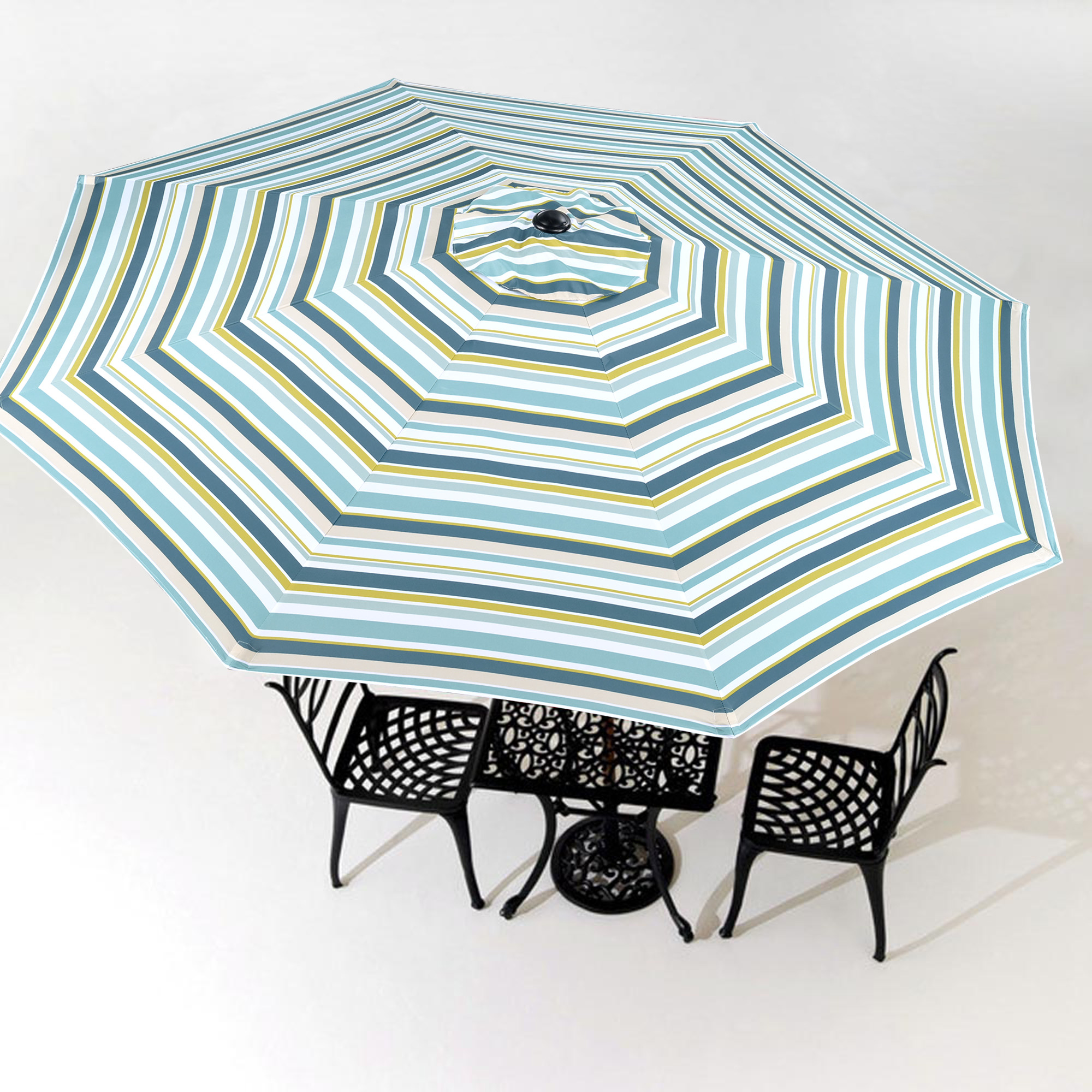 thumbnail 534 - 8'/9'/10'/13' Umbrella Replacement Canopy 8 Rib Outdoor Patio Top Cover Only Opt