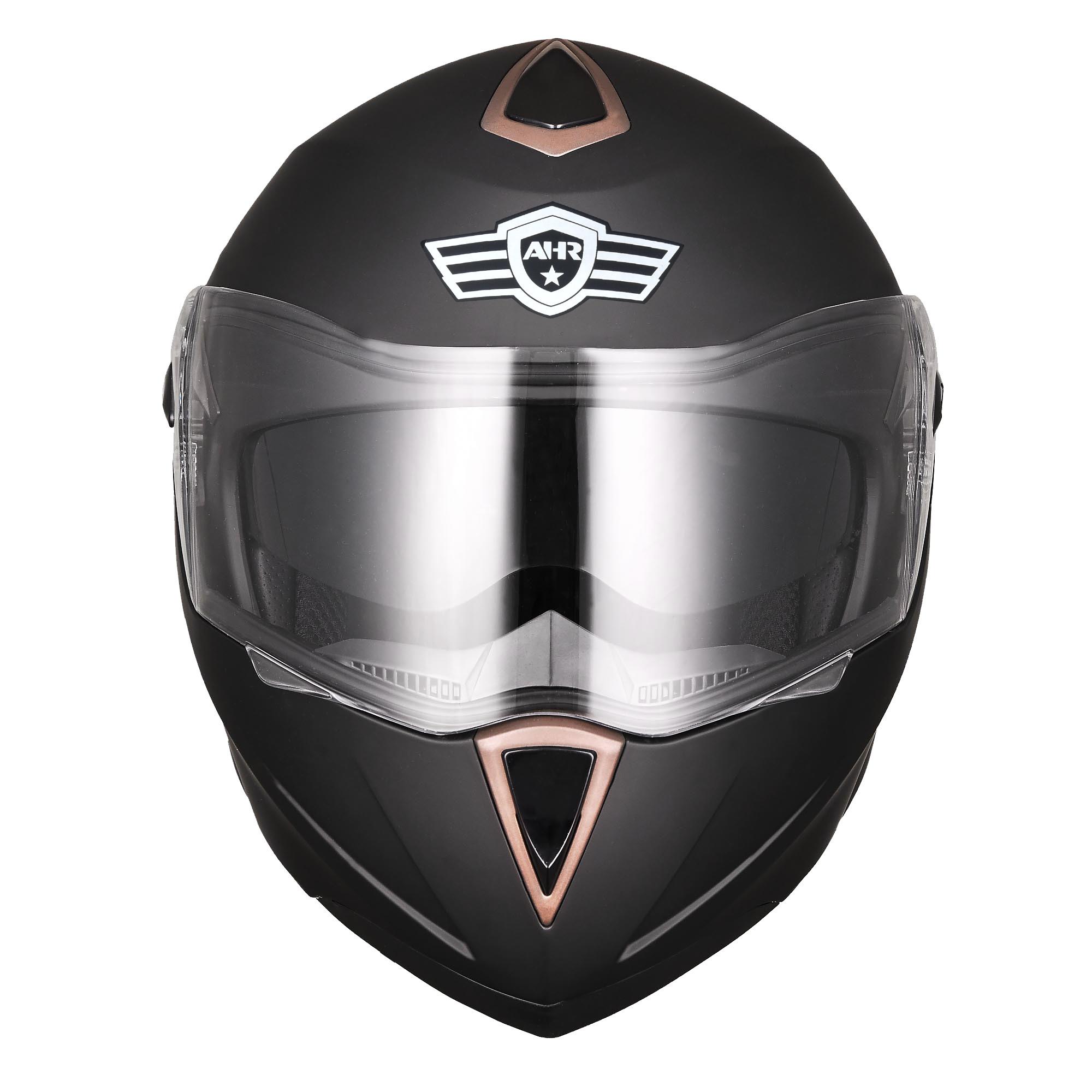 miniature 45 - DOT Flip up Modular Full Face Motorcycle Helmet Dual Visor Motocross Size Opt