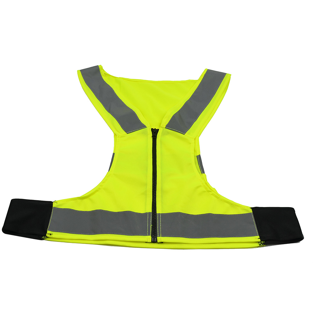 high visibility reflective vest harness safety cycling sport running walking new. Black Bedroom Furniture Sets. Home Design Ideas